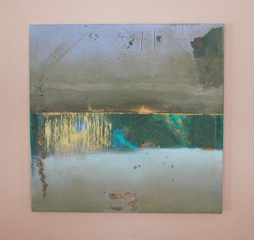 Jillian platt omalley green painting