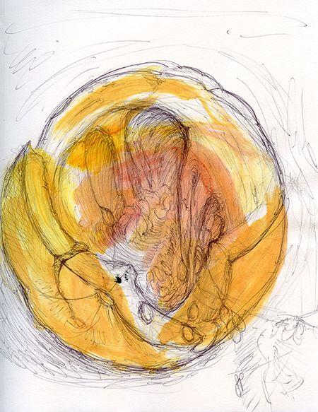 Pumpkin-sketch-wash